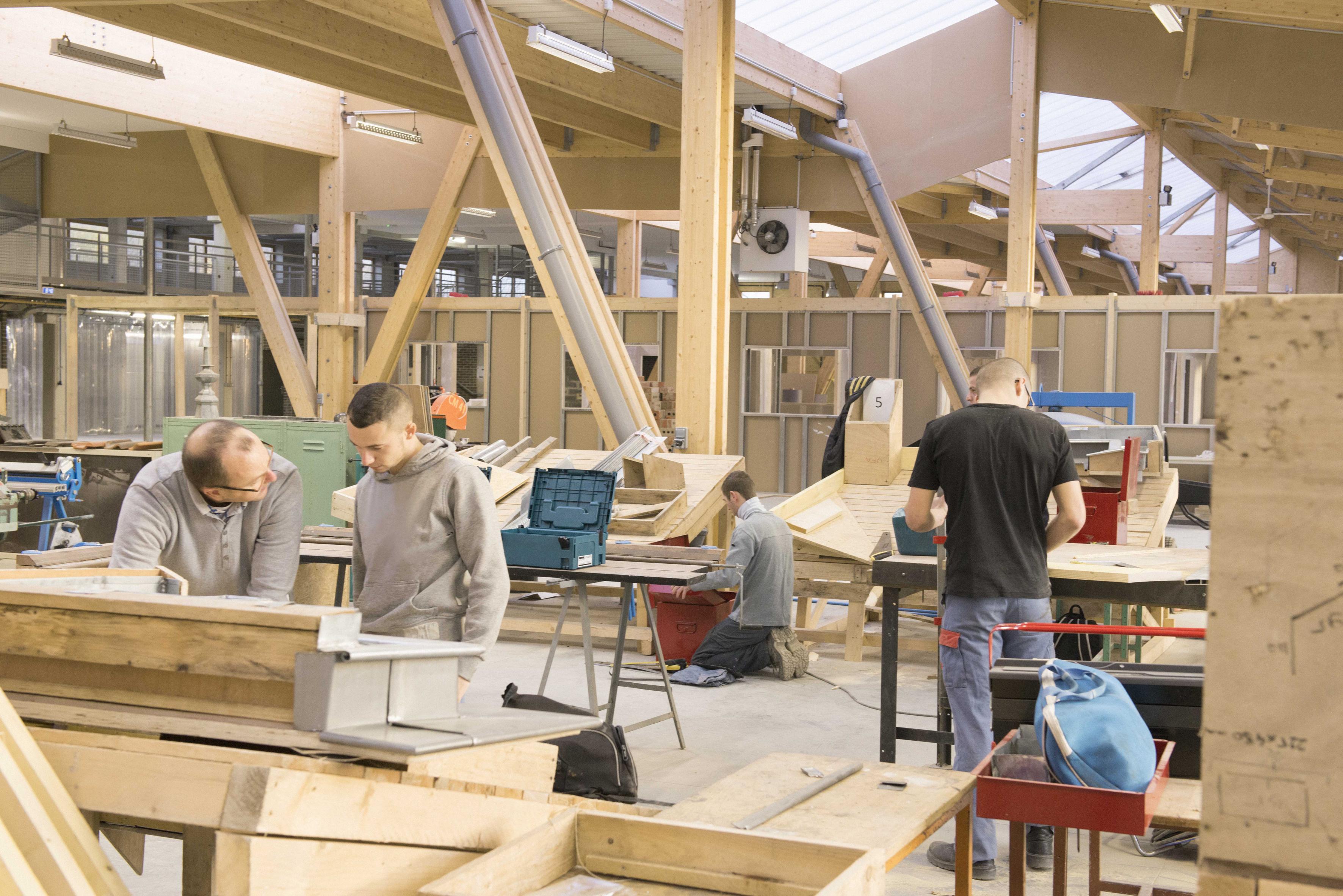 Nos travaux en atelier