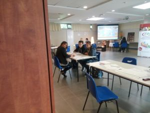 stagiaires DRPA rencontre recruteurs