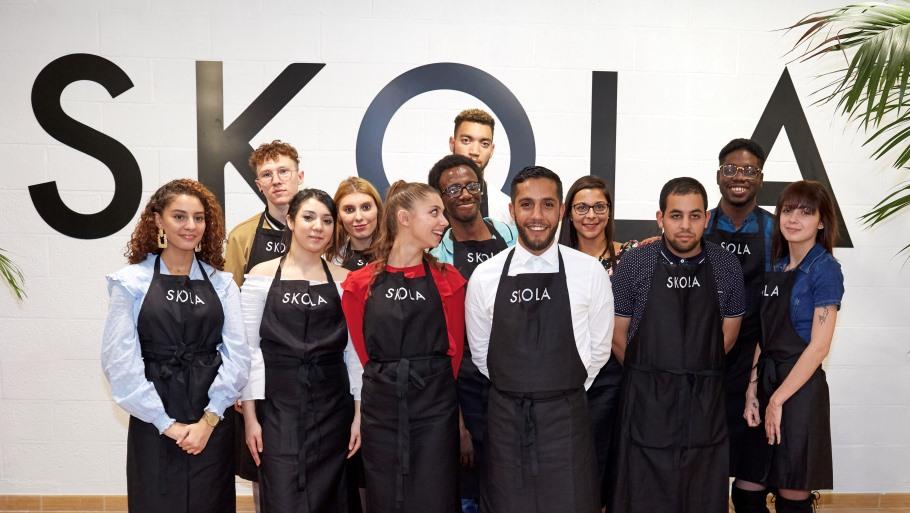 12 jeunes à SKOLA Lille Apprentis d'Auteuil