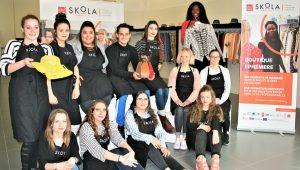 Les 12 élèves de la seconde promotion Skola Vente Beauvais