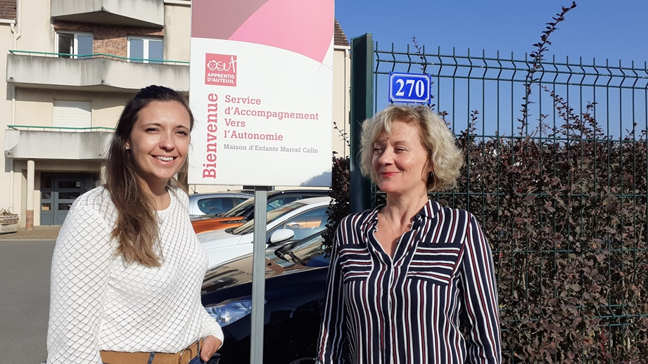 Helena Roche et Carole Castelain main dans la main pour venir en renfort dans les établissements